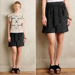 Anthropologie Corey Lynn Carter Town Square Skorts
